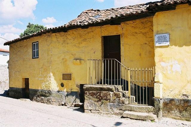 Casa em Lebução onde nasceu Cândido Sotto Mayor