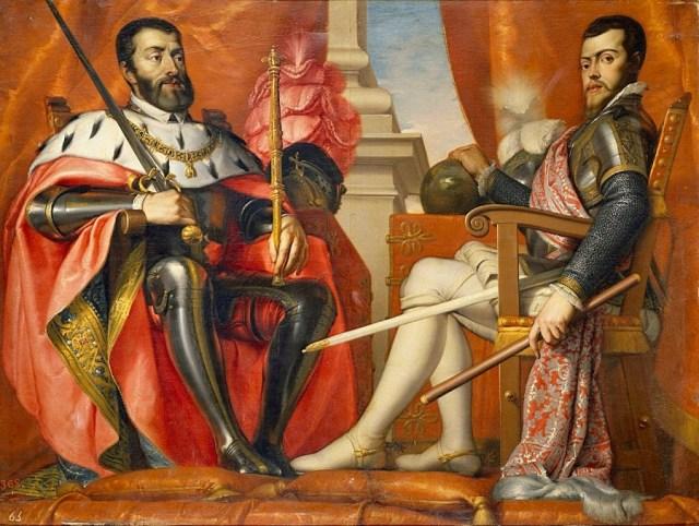 Carlos V e Filipe II