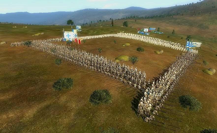 Tática do quadrado usada na Batalha de Aljubarrota
