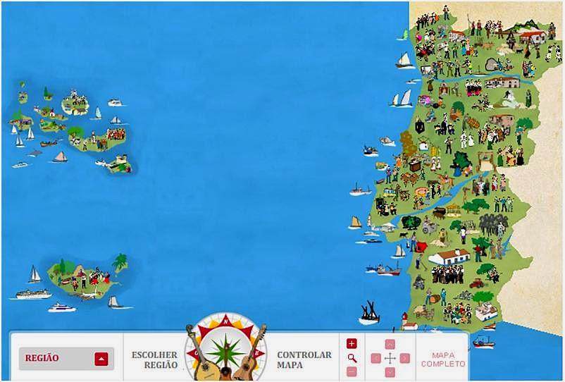 Rir De Nós Próprios Mapas Alternativos De Portugal Feitos Com - Portugal mapa