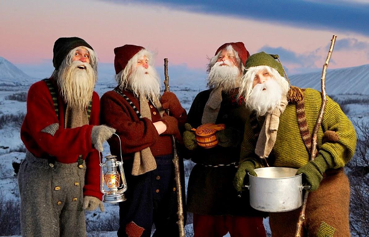 Yule na islândia