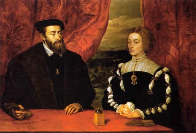 Carlos V e D. Isabel