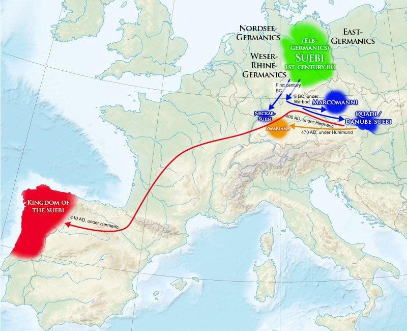 Migrações dos Suevos