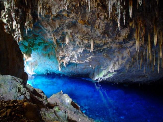 Blue Lake Cave, Brasil