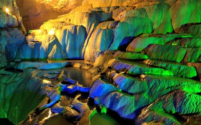 Jiu Xiang Caves, China