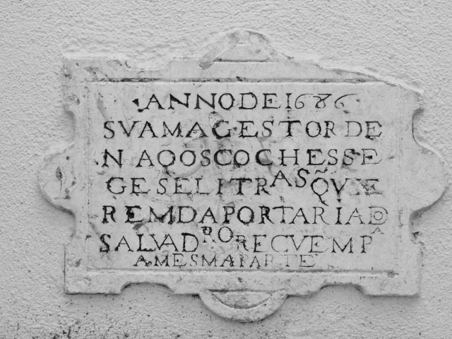 Sinal de Trânsito mais antigo de Lisboa
