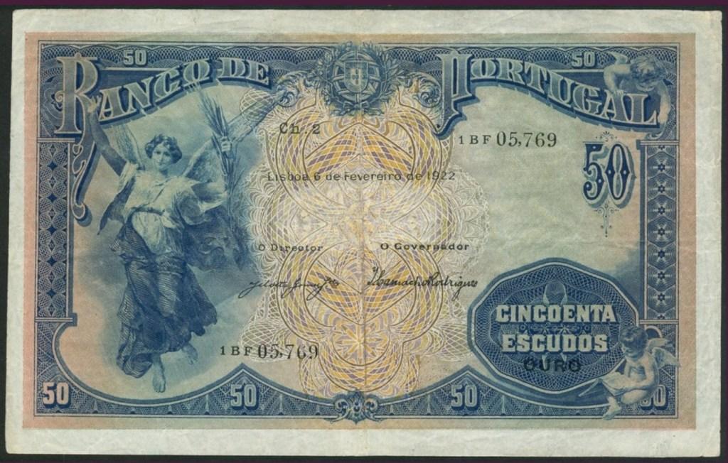 50$00 de 1922