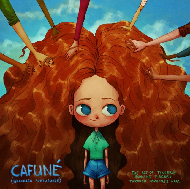 Cafuné, Português do Brasil