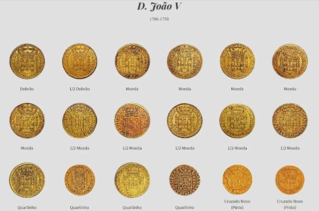 Moedas de D. João V