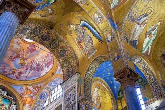 Mosaicos religiosos de Palermo