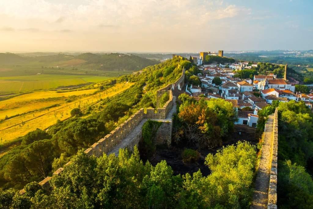 castelos medievais em Portugal