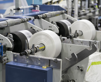 Fruit Packaging Being Manufactured