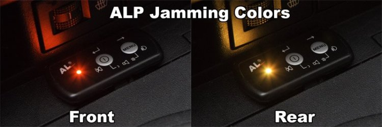ALP jamming colors