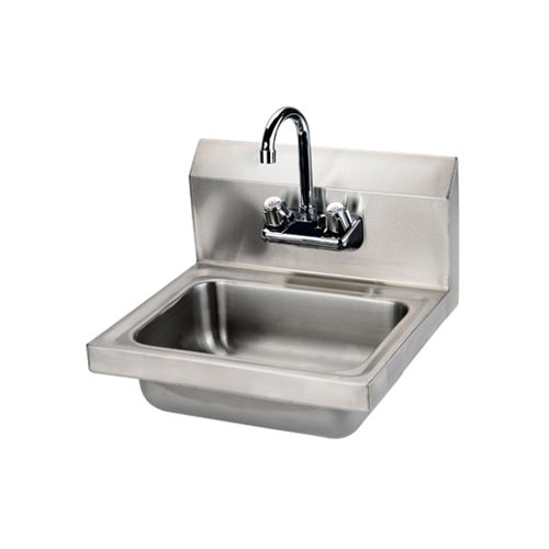 efi sih817 f 17 x 15 wall mounted hand sink with faucet
