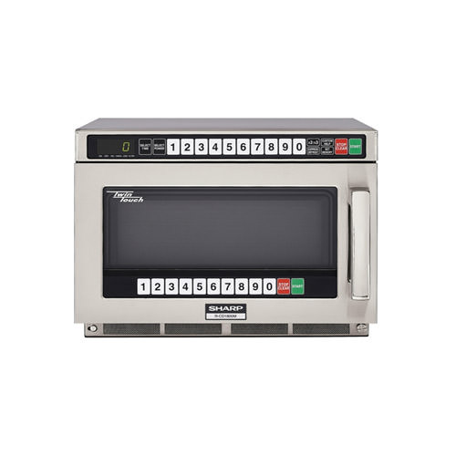sharp r cd1200m 1200 watts heavy duty commercial microwave oven