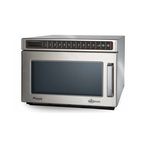 amana hdc12a2 1200 watts digital control heavy duty commercial microwave oven