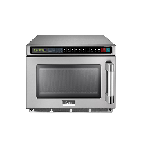 midea 1217g1a 1200 watts digital control heavy duty commercial microwave oven