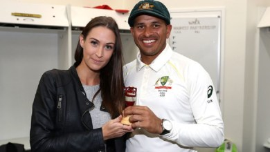 Usman Khawaja's fiancée opens up about her conversion to Islam