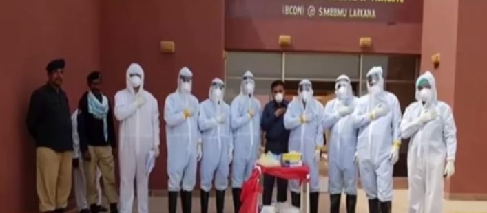 30 dies and More than 2400 health care practitioners contracted with corona virus