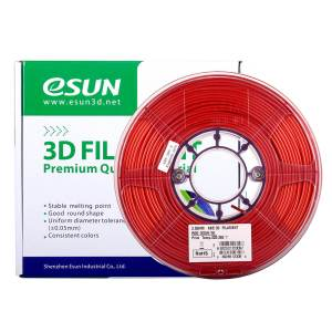 Filaments 3D ABS ESUN rouge
