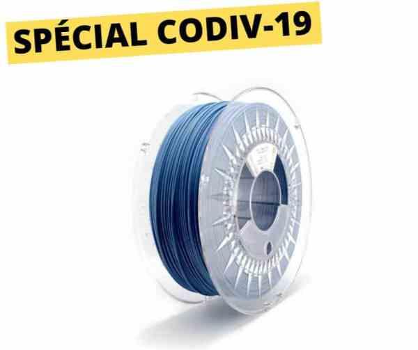 Copper3D - PLActive - bleu ciel - 1.75mm -