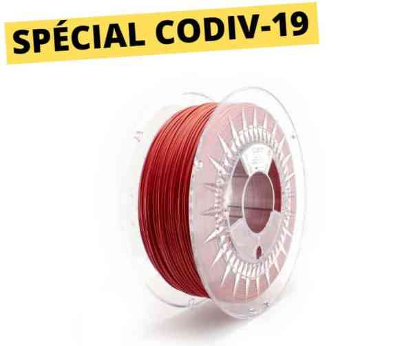 Copper3D - PLActive -rouge - 1.75mm -