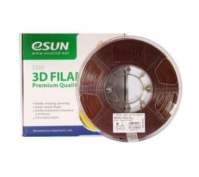 Filament eSUN ABS+ 1.75mm 1Kg marron