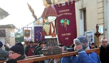 Fête de la Saint-Vincent 2019 à Thomery.