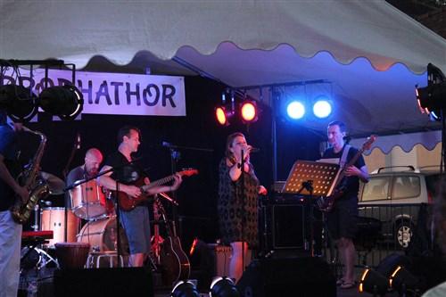Le groupe La Pulse en concert à Villecerf.