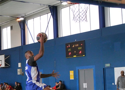 Basket-ball : les seniors de Moret s'incline à Combs-la-Ville.