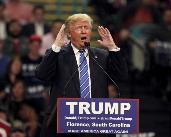 South Carolina - Trump Says North Korea Leader Has 'Talent'