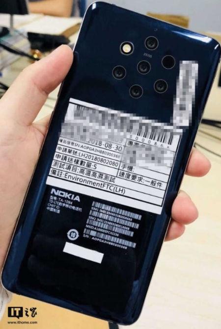 Nokia s 5 fotoaparatmi je na ceste