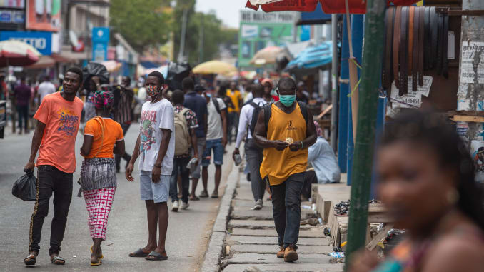 Are you convinced the spread of Covid-19 in Ghana is slowing down?