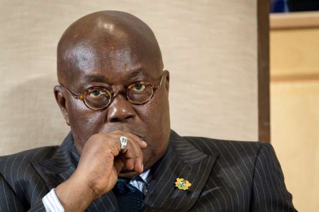 Forecast Update: Regions where Nana Addo is getting weaker