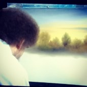 """God was having a good day when he made Alaska"" - Bob Ross #art #quote #bobross #god #alaska"