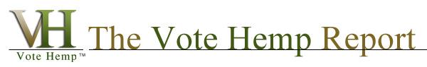 Vote Hemp Report Header