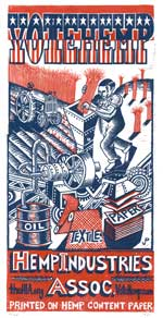 PollockPrints Vote Hemp Poster