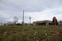 Proposed development on this empty lot at MLK Boulevard and Alberta Street has stirred controversy as some people cry gentrification and others beg for construction. (Casey Parks/The Oregonian)