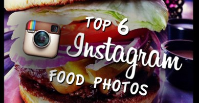 Top 6 Instagram Food Photos