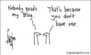 nobody reads my blog