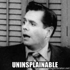 Uninsplainable