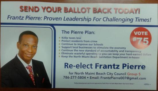 Frantzie Flyer Side 2