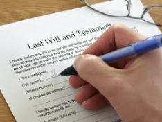 writing a will