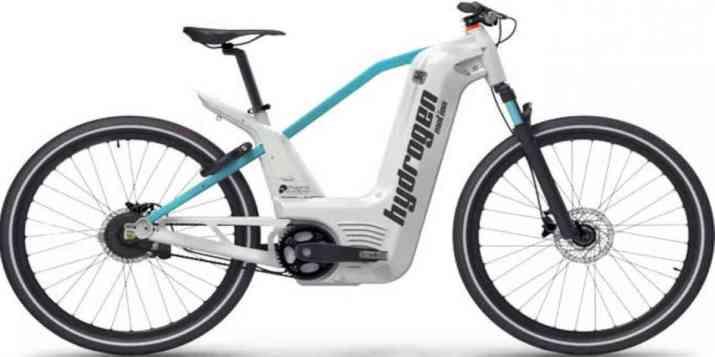Le vélo à hydrogène fait son entrée