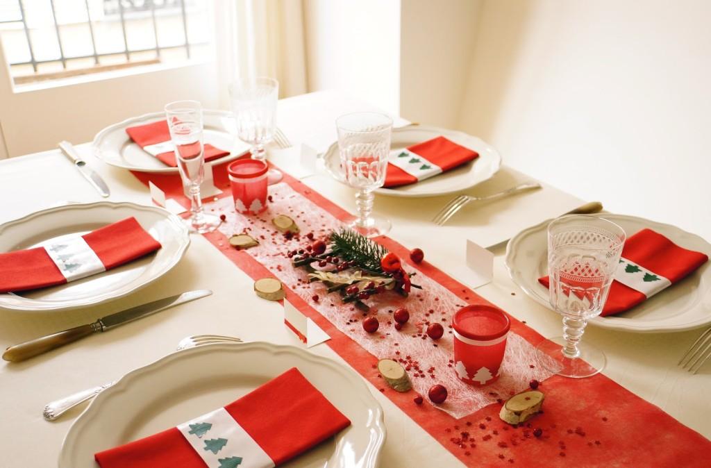 Dcoration Maison Table Noel Exemples Damnagements