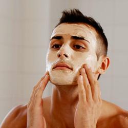 Masque de beauté pour homme