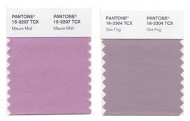 La teinte mauve Pantone Fashion déclinée au féminin et au masculin