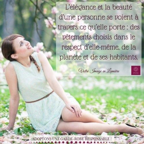 L'élégance et la beauté d'une personne se voient à travers ce qu'elle porte