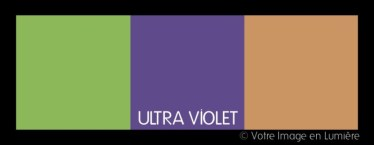 Ultra violet pantone 2018 - Harmonie contrastée