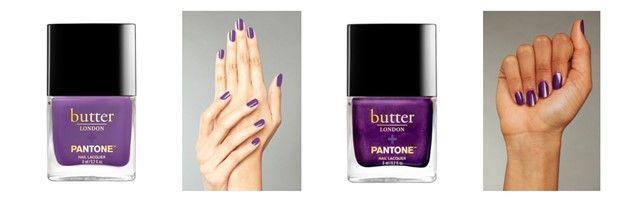 Vernis butter london couleur Ultra violet Pantone 2018